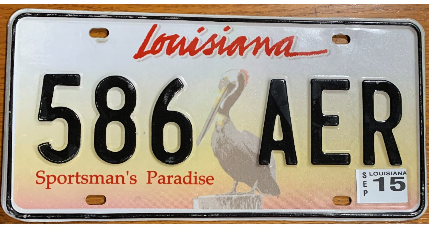 Louisiana 2015-PELICAN