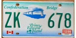 Prince Edward Island 1999-CONFEDERATION BRIDGE-FLAG