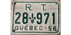 Quebec 1956-RT (REGIE DES TRANSPORT)