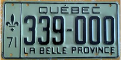 Quebec 1971-TRIPLE 000