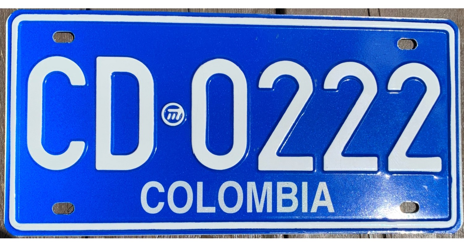 COLOMBIA 2010's DIPLOMAT-TRIPLE 222