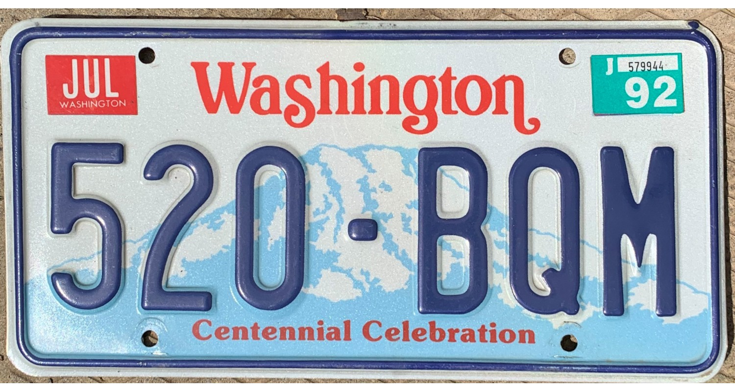 Washington 1992-CENTENNIAL