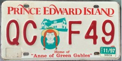 Prince Edward Island 1997-ANNE OF THE GREEN GABLES