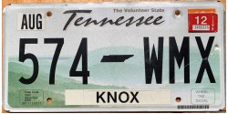 Tennessee 2012-KNOX COUNTY