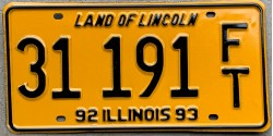 Illinois 1992-LINCOLN