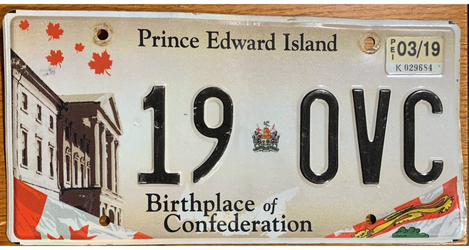 Prince Edward Island 2015's-BIRTHPLACE OF CONFEDERATION-FLAG