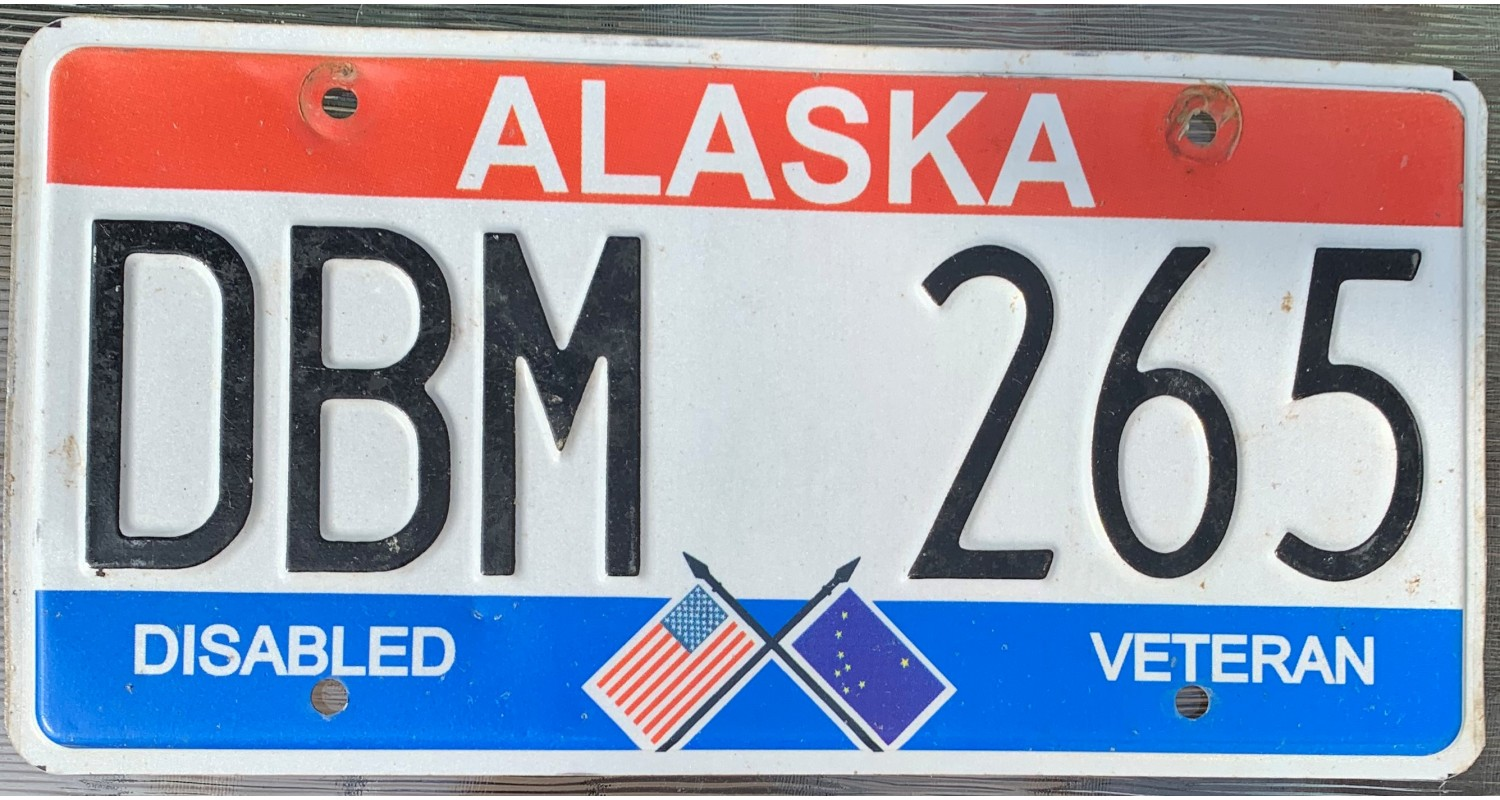 Alaska 2015's disabled veteran