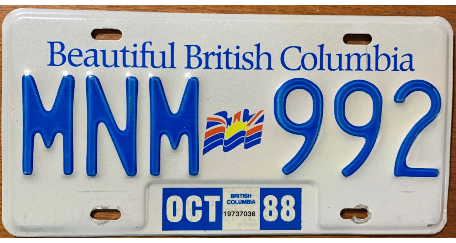 British Columbia 1988-FLAG