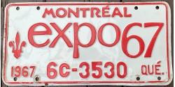 Quebec 1967-CONFEDERATION-CENTENNIAL-EXPO 67-MONTREAL