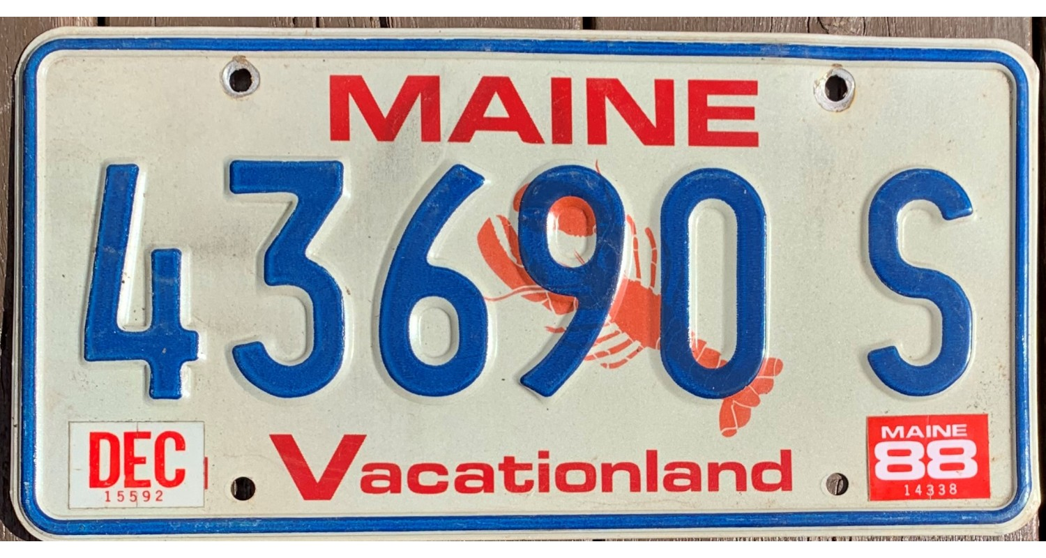 Maine 1988-LOBSTER