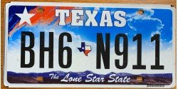 Texas 2010's NICE NUMBER 911