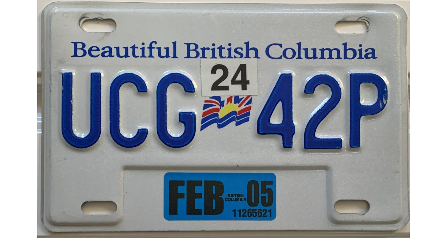British Columbia 2005-MOTORCYCLE-FLAG