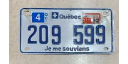 Quebec 1992 motorcycle
