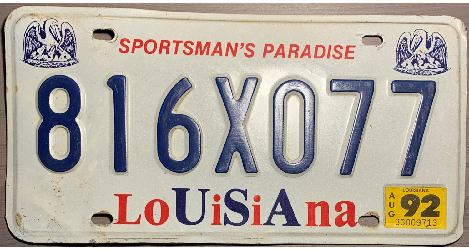 Louisiana 1992-PELICAN