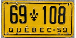Quebec 1959-low numbers