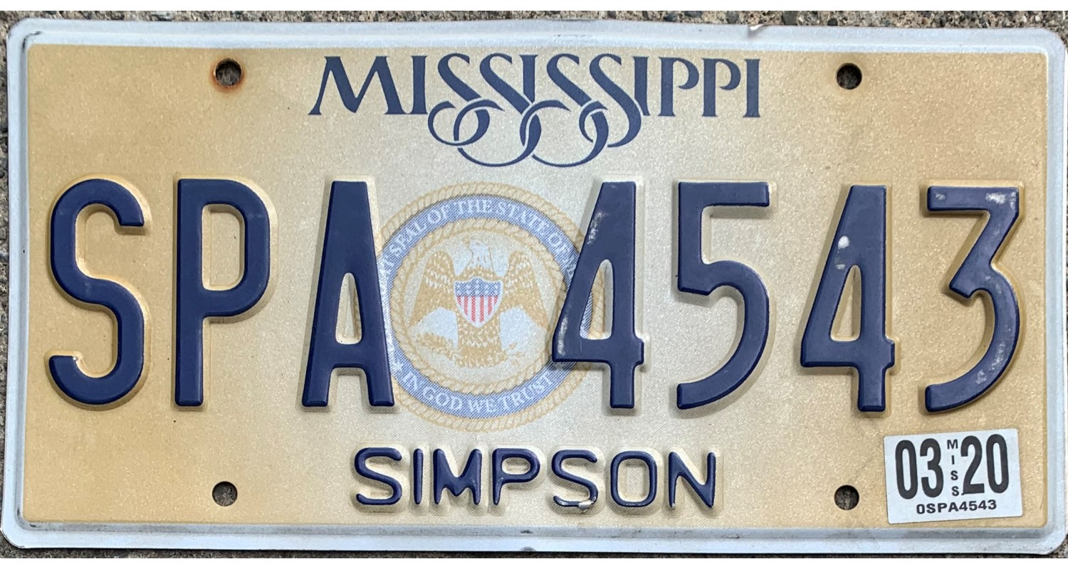 Mississippi 2015's SIMPSON COUNTY