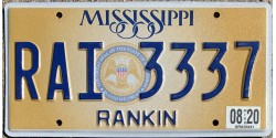 Mississippi 2015's RANKIN COUNTY-TRIPLE 333