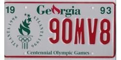 Georgia 1996-OLYMPIC-CENTENNIAL