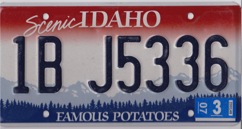 Idaho 2003-FAMOUS POTATOES