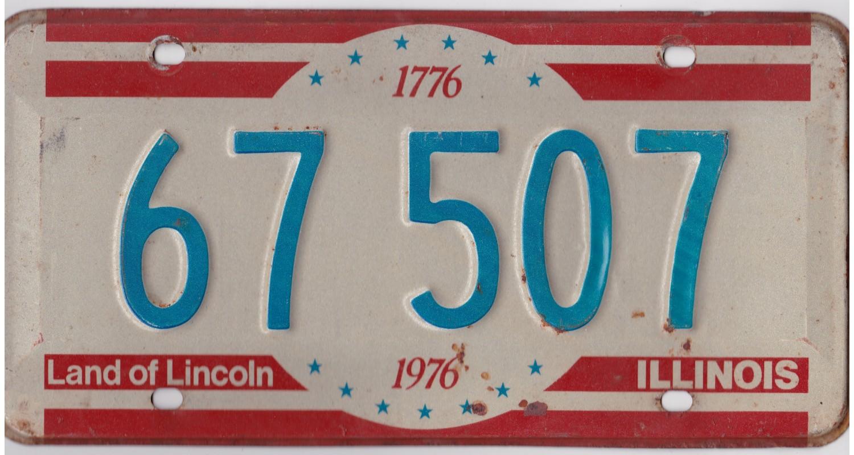 Illinois 1976-BICENTENNIAL-LINCOLN