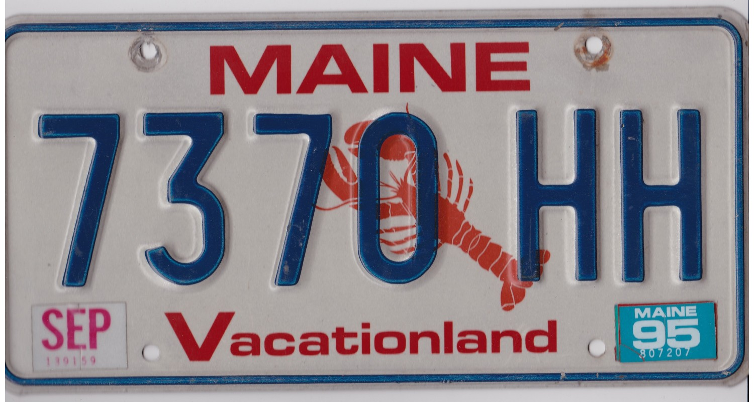 Maine 1995-LOBSTER