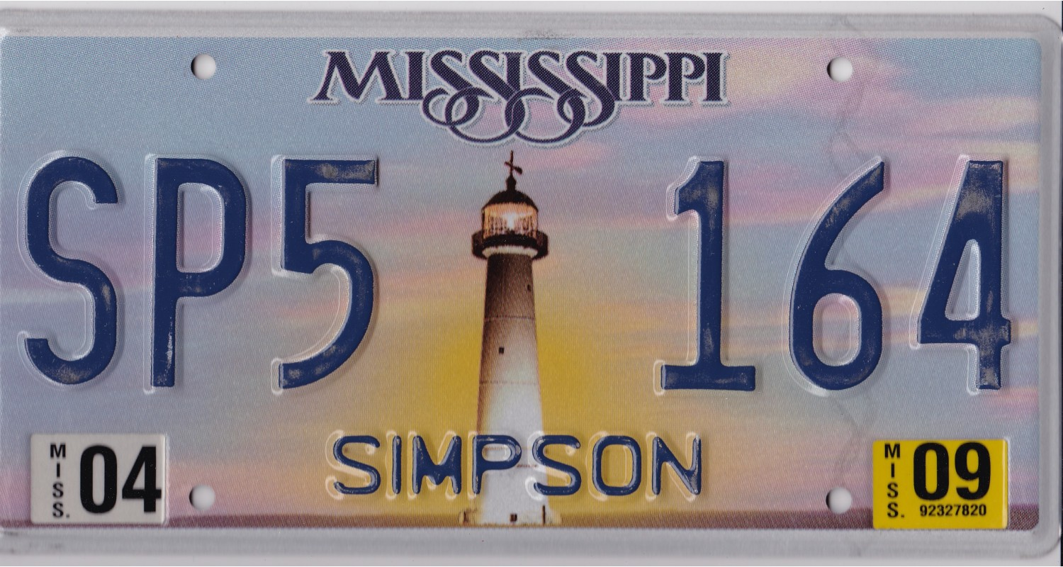 Mississippi 2009-LIGHTHOUSE-SIMPSON COUNTY
