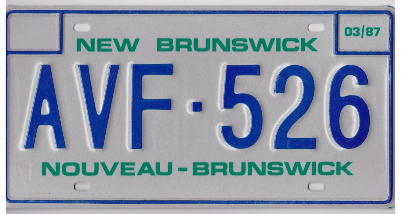New Brunswick 1987