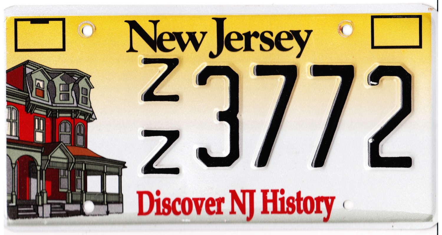 New Jersey 2005's-DISCOVER NJ HISTORY
