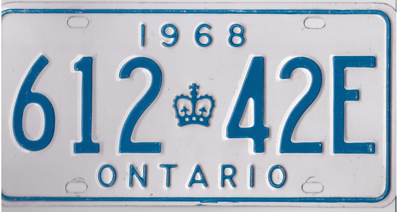 Ontario 1968