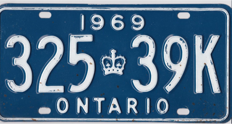 Ontario 1969