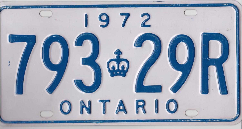 Ontario 1972