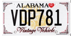 Alabama 2000's-HISTORIC VEHICLE