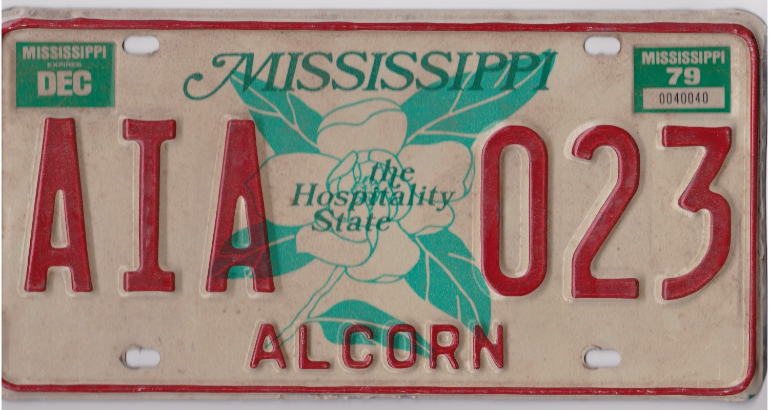 Mississippi 1979-ALCORN COUNTY