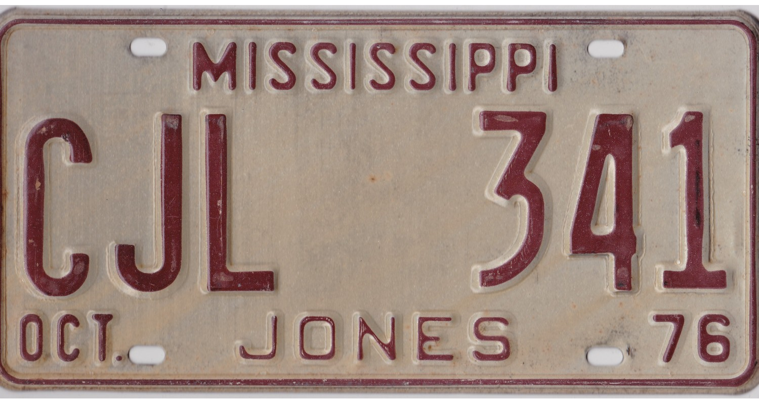 Mississippi 1976-JONES COUNTY