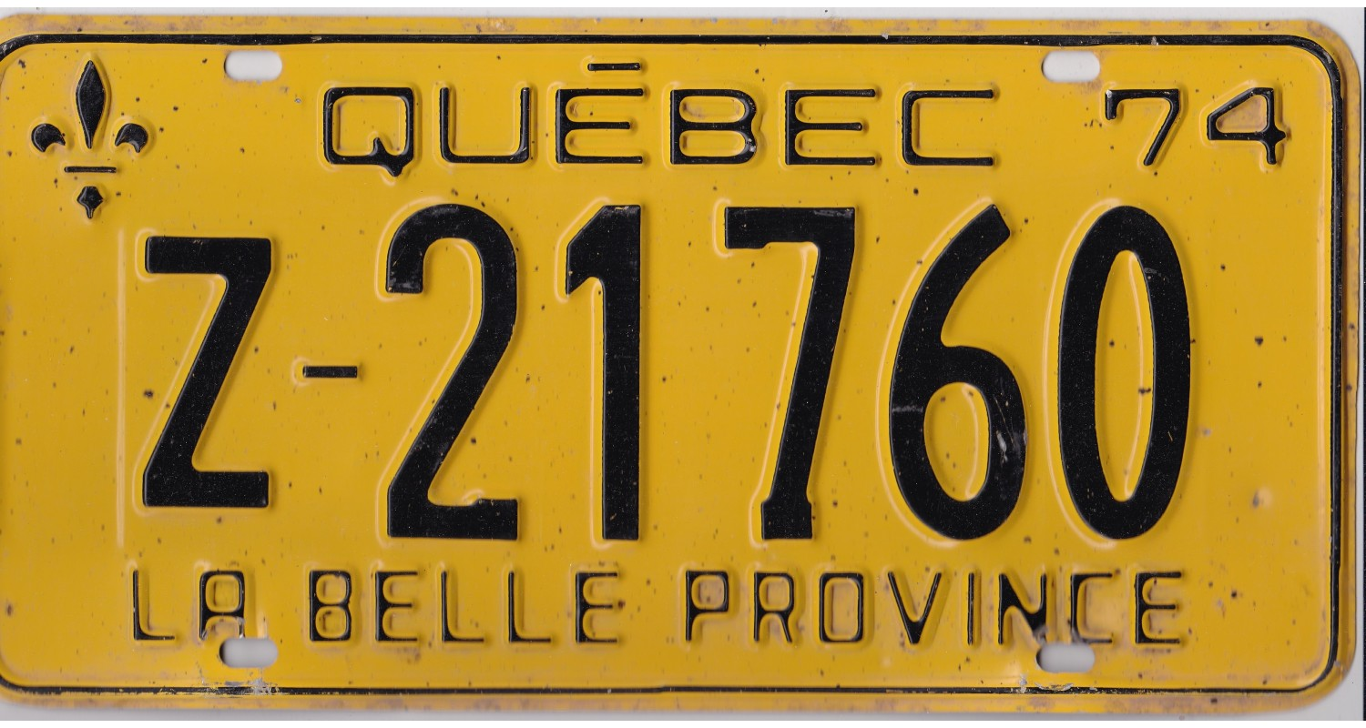 Quebec 1974-RENTAL