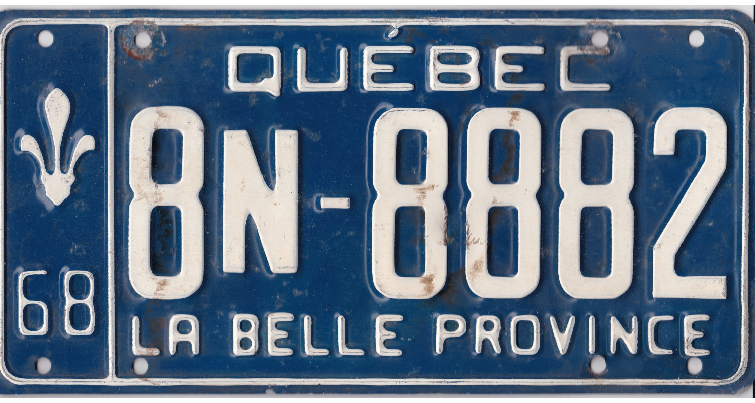 Quebec 1968-TRIPLE 888