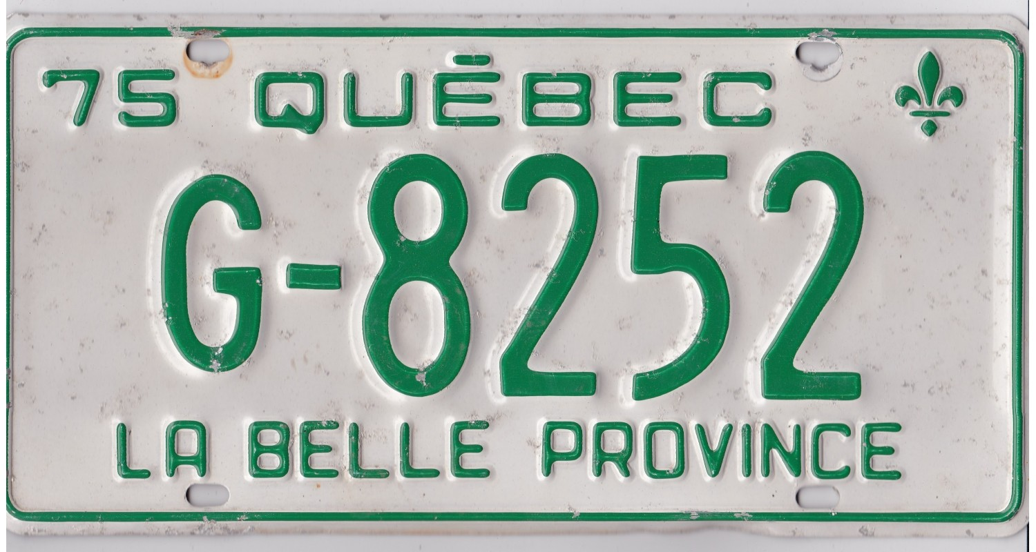 Quebec 1975-GOVERNMENT