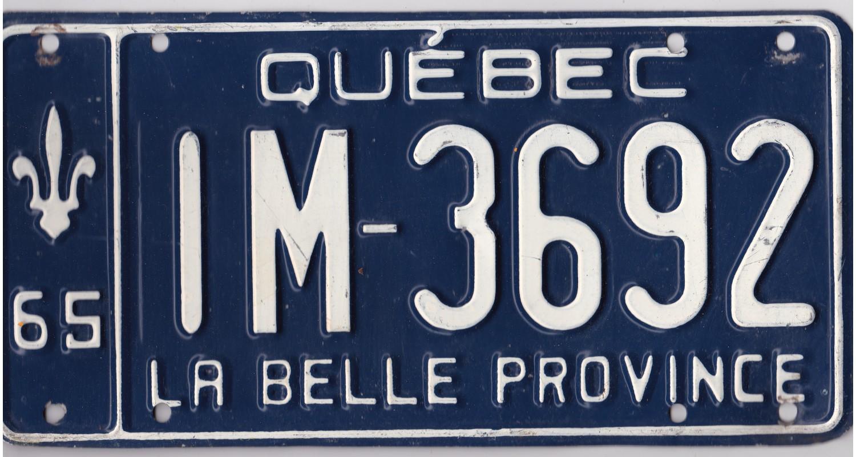 Quebec 1965