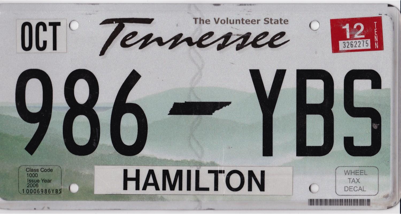 Tennessee 2012-HAMILTON COUNTY
