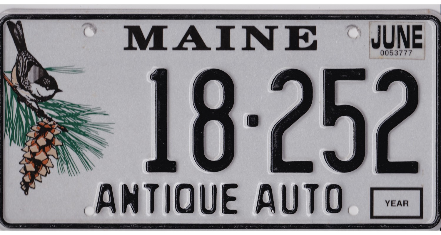 Maine 2010's-ANTIQUE AUTO