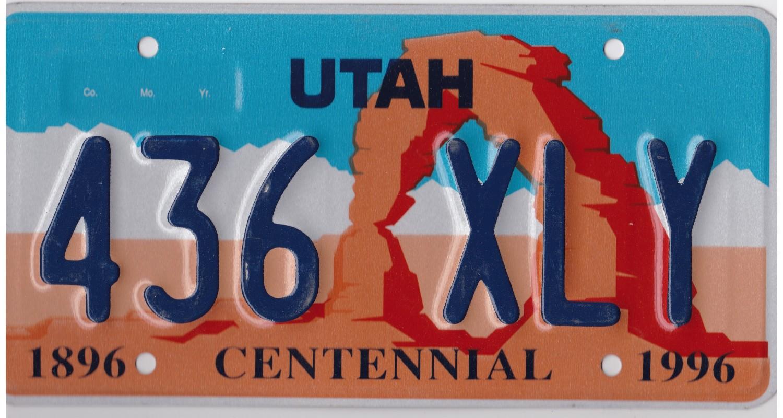 Utah 1996-CENTENNIAL