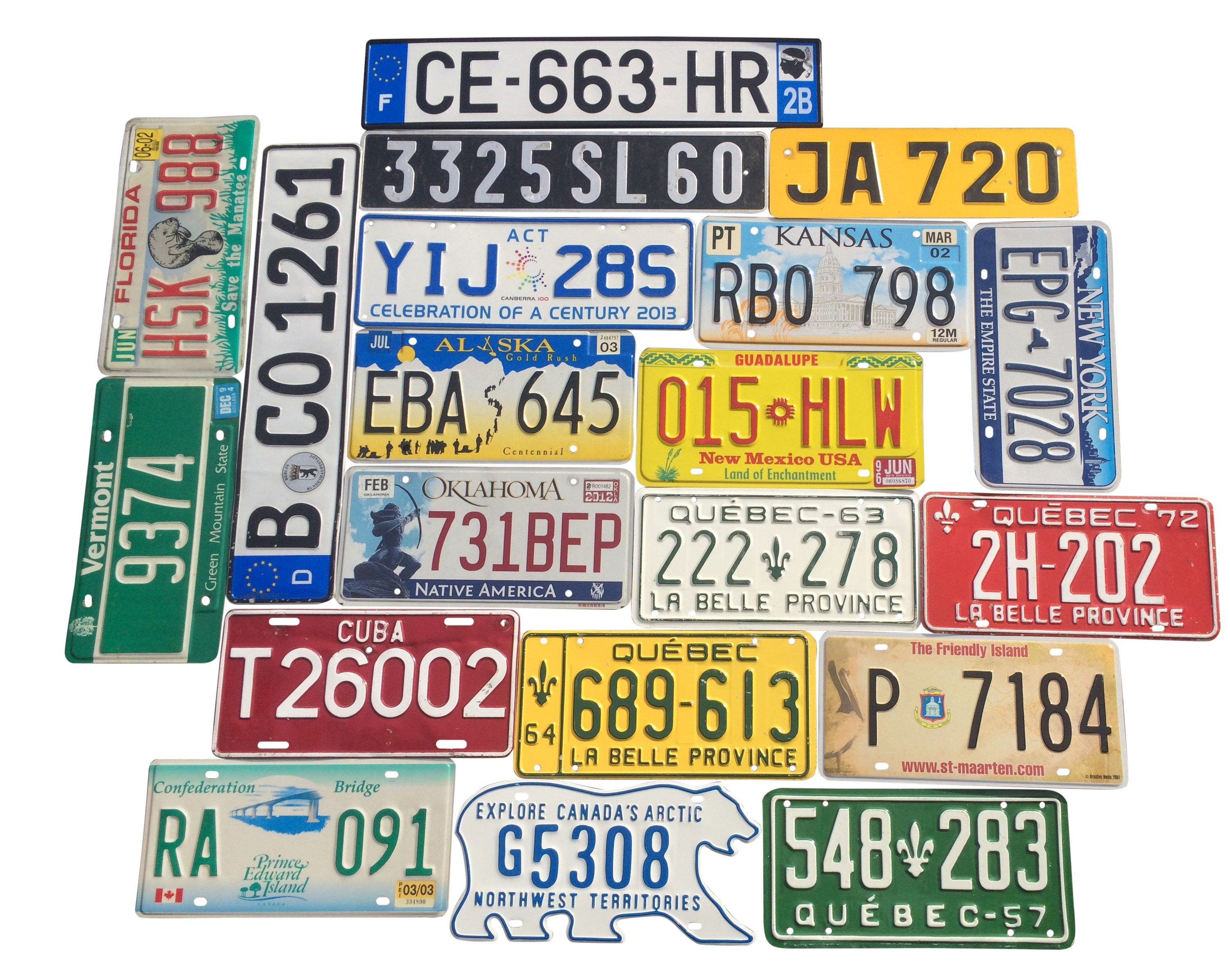 shop world license plates. Black Bedroom Furniture Sets. Home Design Ideas